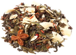 White Tea Fruit Herbal Blend Orange Spice Taste Power Orange Chai