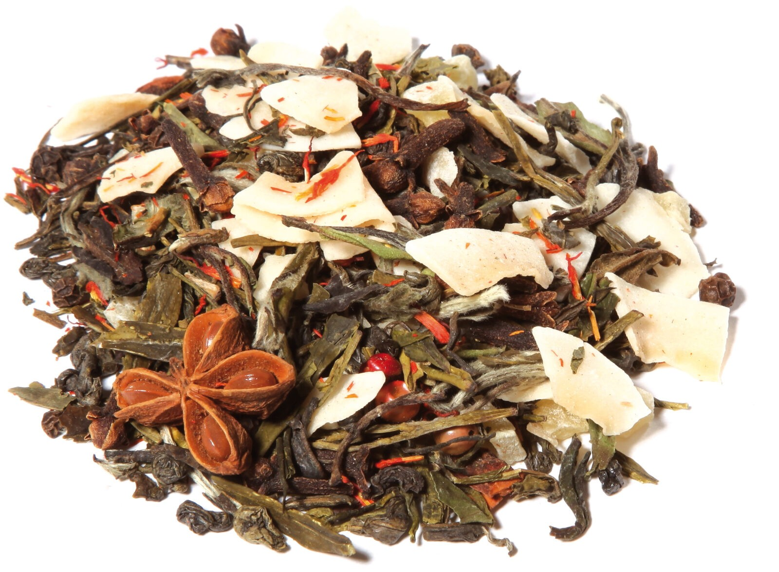 White Tea Fruit Herbal Blend Orange Spice Taste Power Orange Chai