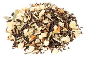 Black Tea Fruit Herbal Blend Ginger Lemon Taste Positivity All Natural