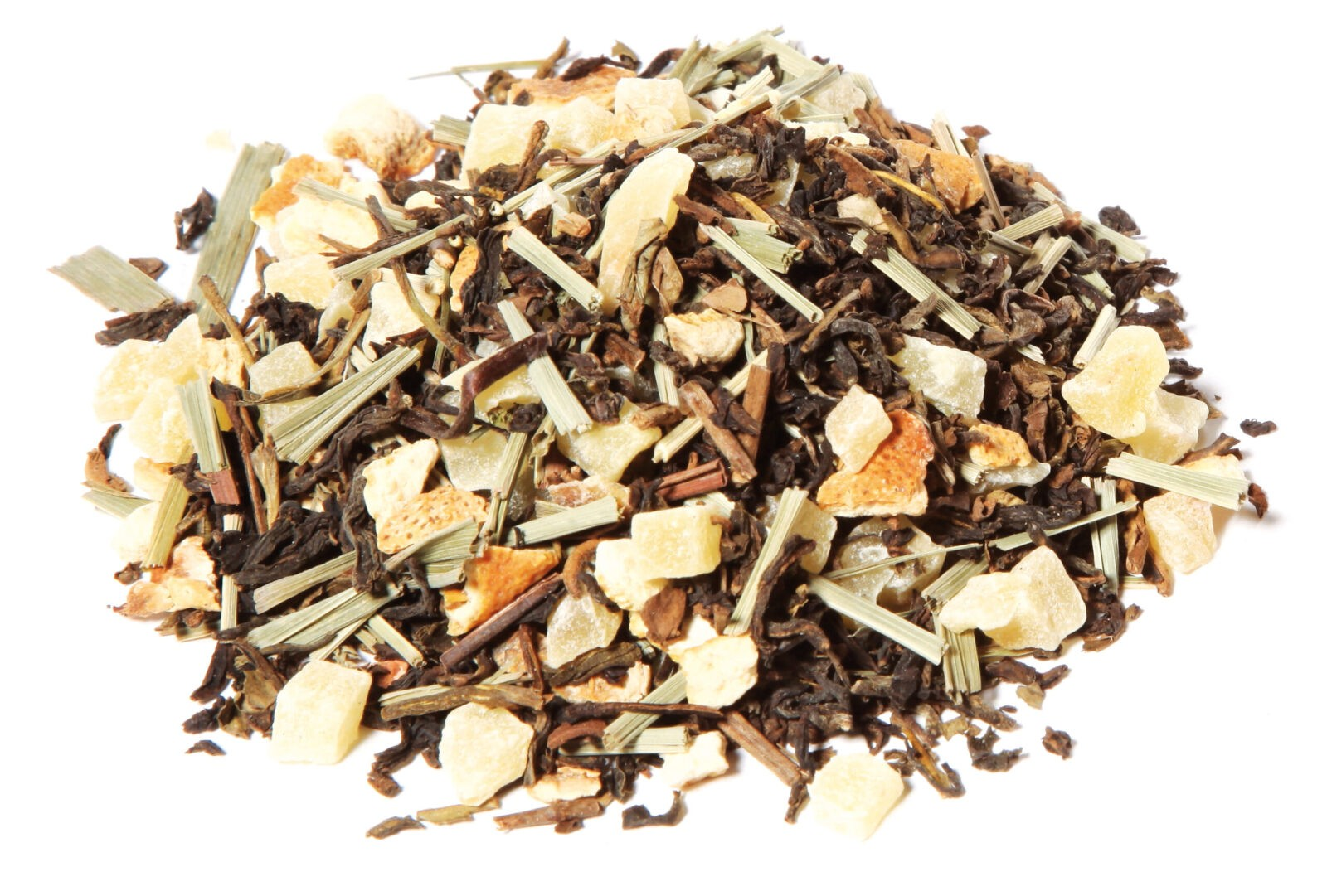 Black Tea Fruit Herbal Blend Ginger Lemon Taste Positivity All Natural