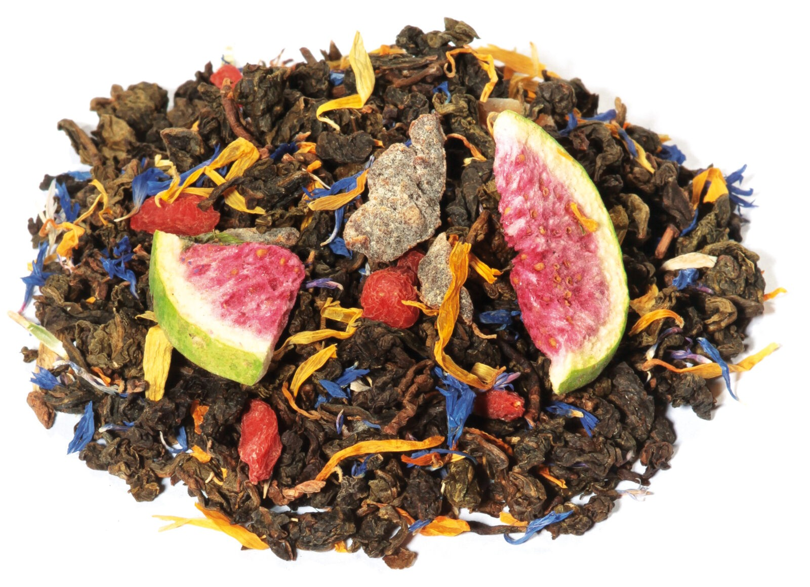 Oolong Fruit Herbal Blend Pomegranate Peach Taste Happiness All Natural