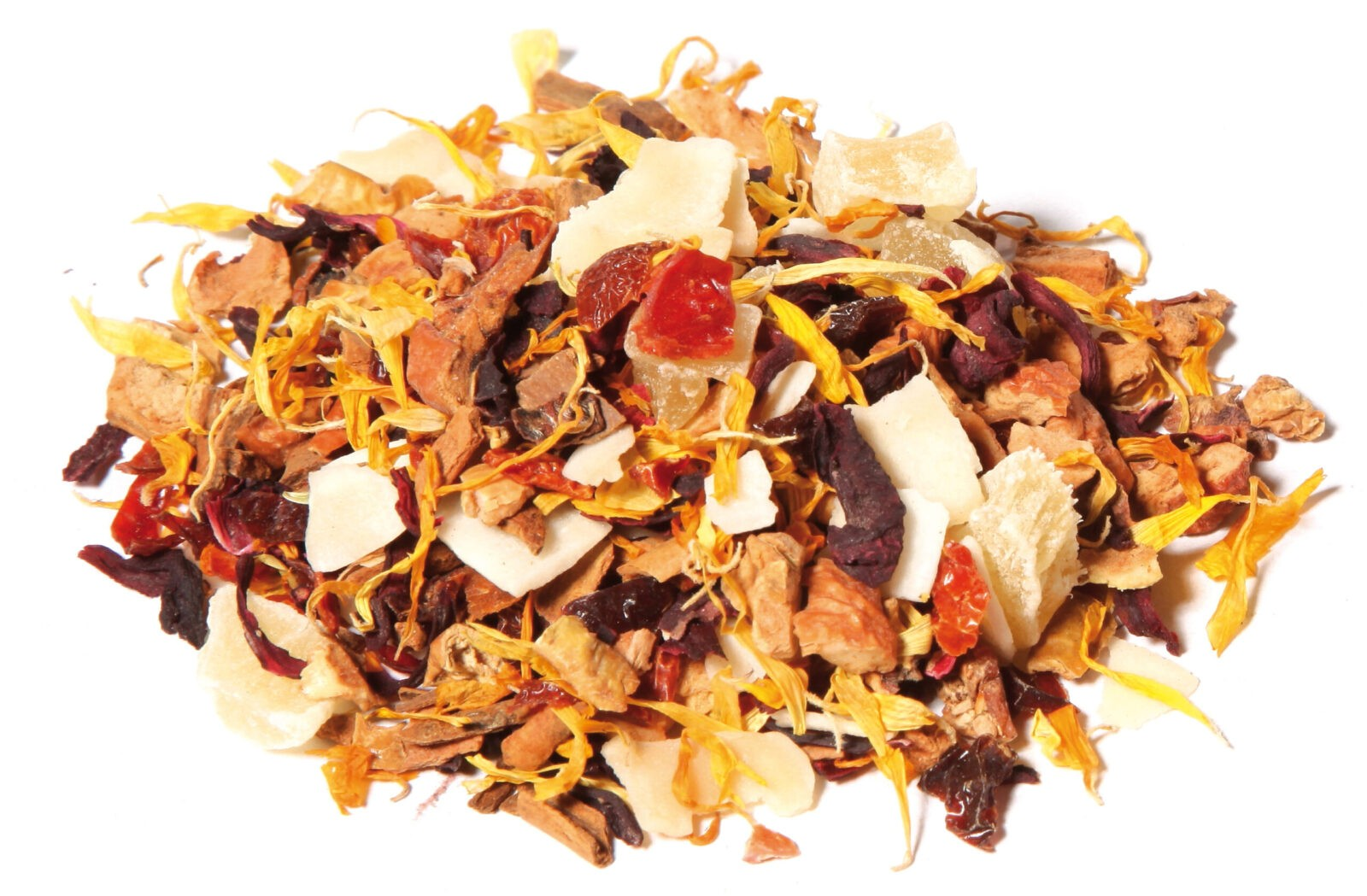 Tea Fruit Blend Pineapple Cinnamon Taste Brazilian Winter All Natural